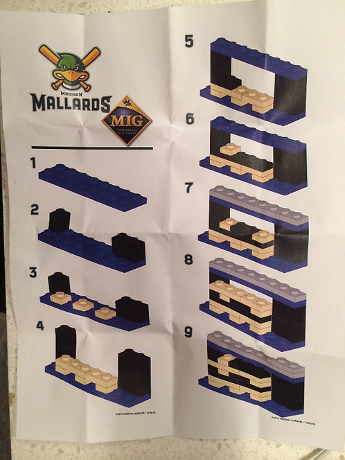 2014 Mallards MIG Commercial Real Estate LEGO Kit