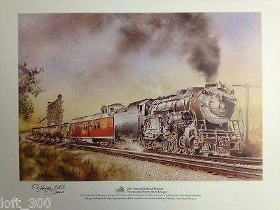 2011 National Railroad Museum Membership Print