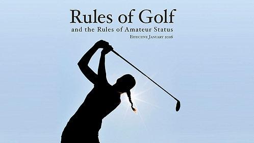 USGA - United States Golf Association 2016 Edition