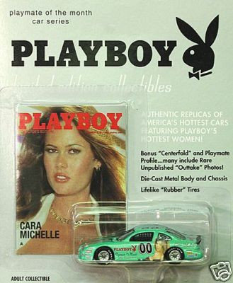 Cara Michelle Playboy 1/64th Scale Die Cast Car