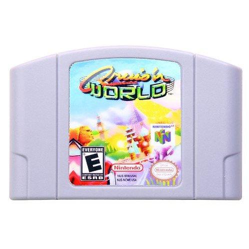 Cruis'n World Nintendo 64 N64 US Version NTSC Game Cartridge - RARE