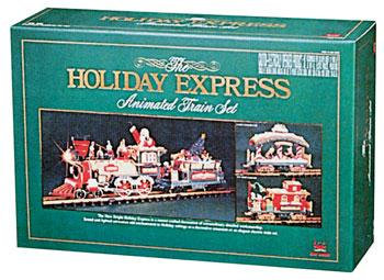 New Bright 384 Holiday Express Electric Train Set