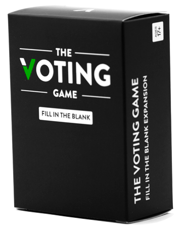 The Voting Game Card Game - Playing Card Deck