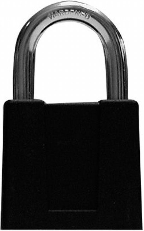 "1"" Sesamee K500 Shackle Combination Lock - Black"