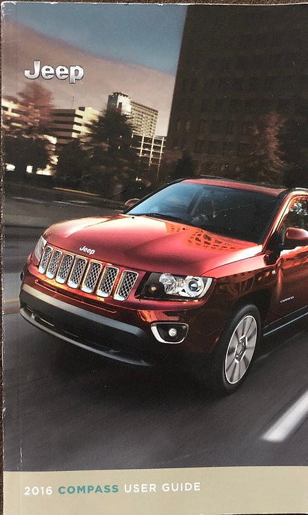 2016 Jeep Compass Primary Owner's Manual