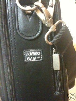 "Turbo Bag T-400 Laptop Bag - 15.4"" Genuine Leather"