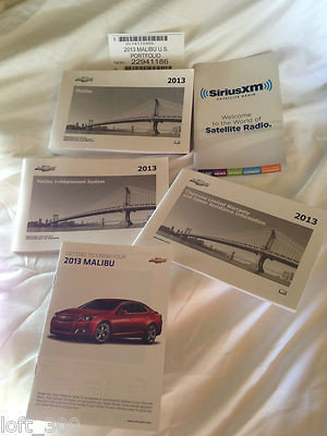 2013 GM Chevy Malibu Owners Manuals (22941186)