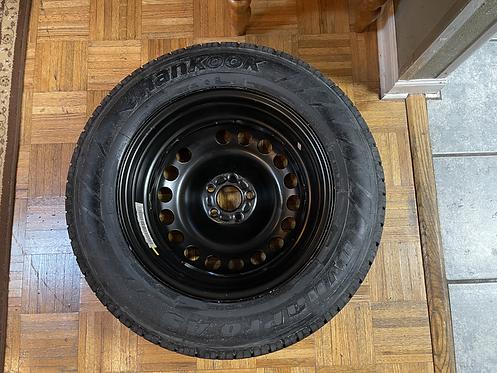 2011 Land Rover LR2 Spare Tire Doughnut Rim and Rubber Wheel Set (qty. 1)