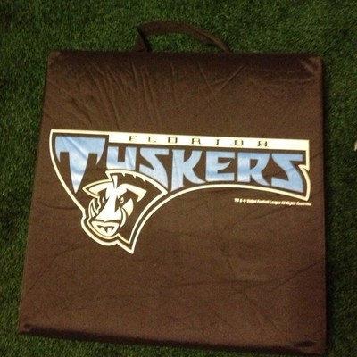 Florida Tuskers Logo Stadium Seat Cushion