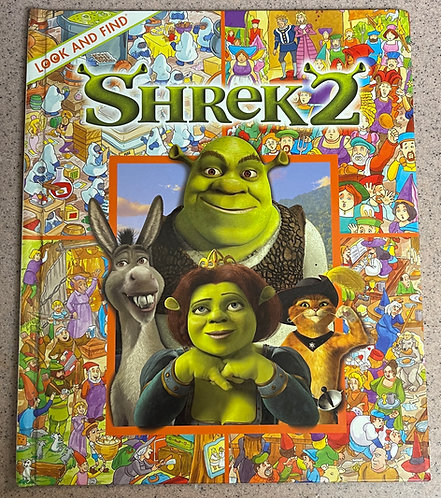 Shrek2 Look and Find Picture Book ISBN 1-4127-0472-3