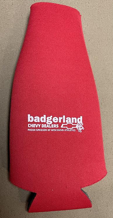 Badgerland Chevy Dealers Red Koozie
