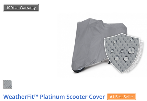 WEATHERFIT™ PLATINUM SCOOTER COVER