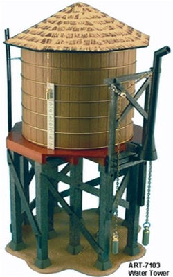 ARISTO CRAFT 7103 Functioning Water Tower Assembld