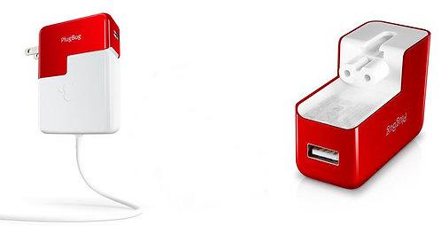 PlugBug USB Charger Piggybacks On MagSafe Adapter