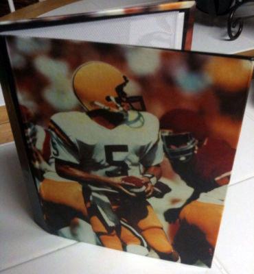 Football Themed 4x6 Hard Cover 18pg Photo Album