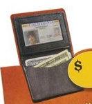 Leather ID Wallet (single unit)
