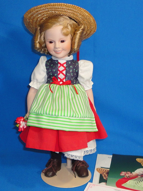 "The Shirley Temple Antique ""Heidi"" Doll by Danbury"