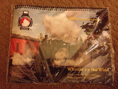 2008 Steam Calendar WHISTLE ON WIND Mid-Continent