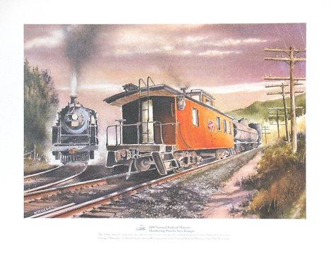 2009 National Railroad Museum Membership Print