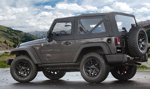2014 Jeep Wrangler 2D Complete Soft Top Kit BLK