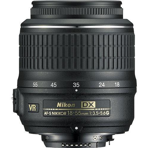 Nikon AF-S DX Nikkor 18-55mm f/3.5-5.6g ED VR