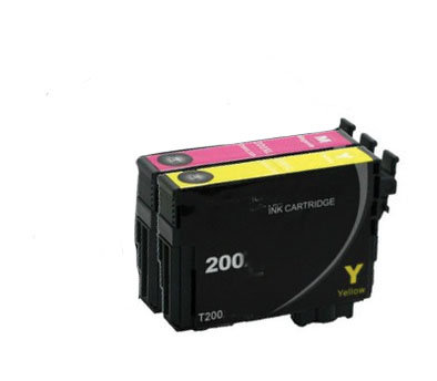 Epson 200 Printer Ink Cartridges, 3 Lot 1M/2Y