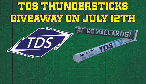 2014 Madison Mallards TDS Thundersticks Giveaway