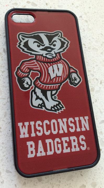 NCAA Wisconsin Badgers iPhone 5/5c/5s Slim Case