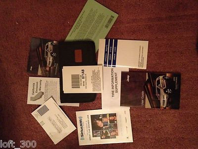 2012 Jeep Grand Cherokee Owner Manuals, Case & DVD