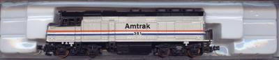 Life-Like N F40 Loco 7641 Amtrak #381