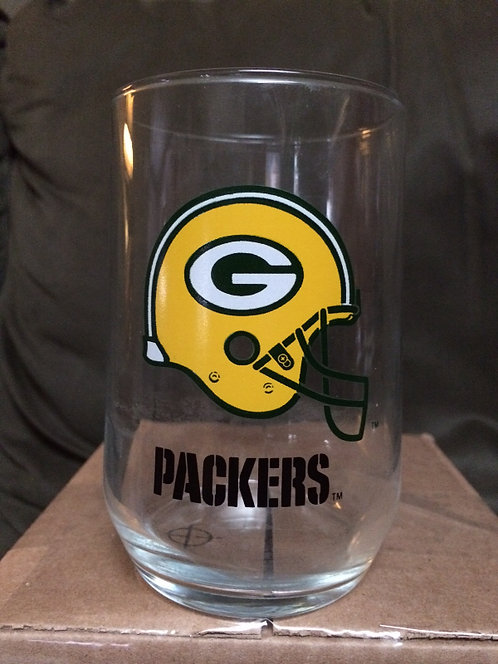Green Bay Packers 16oz NFL Licensed Glass Tumbler
