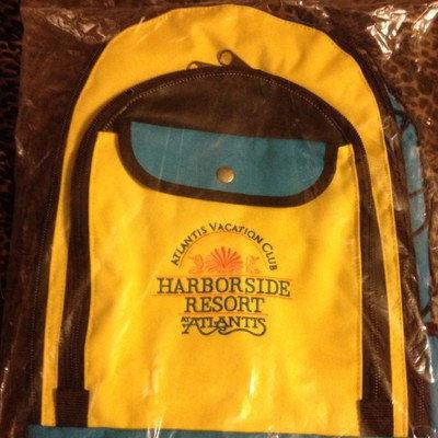 Atlantis Vacation Club - Harborside Large Backpack
