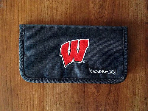 BroadBay Top Side Tear Checkbook Cover Wallet - UW