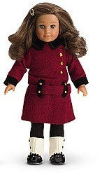 """AMERICAN GIRL 6"""" Mini Doll REBECCA RUBIN"""