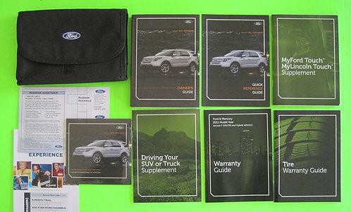 2011 Ford Explorer Owner Manuals & DVD