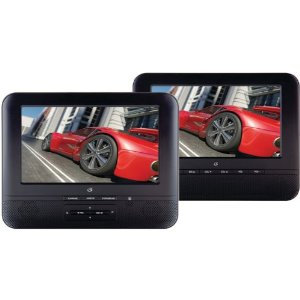 GPX 7-in. Dual Screen Portable DVD Player PD7711B