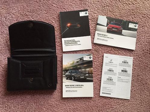 2015 BMW Serie 3 Berlina Manuals & Case Spanish ED