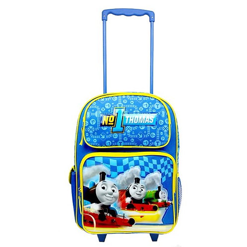 """Thomas the Tank Engine Large 16"""" Rolling Backpack"""