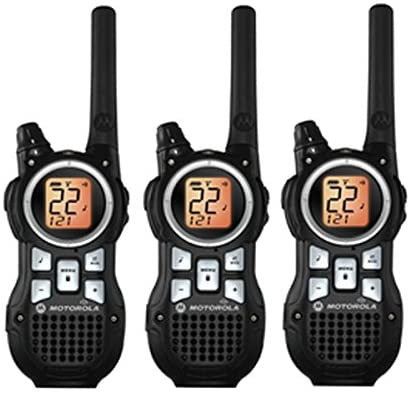 Motorola Talkabout MR350TPR FRS GMRS 2-way Radios (3 pack)