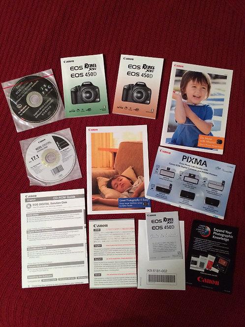Manual for EOS DIGITAL REBEL XSi/EOS 450D