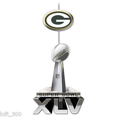 Green Bay Packers Super Bowl XLV Champions Ornamen