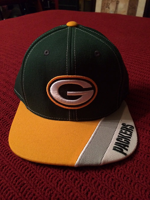 Green Bay Packers Youth Flat Flat Flex Style Visor