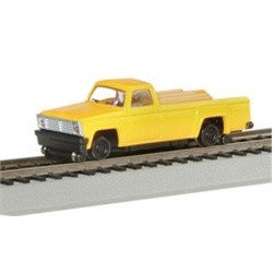 Bachmann 46201 HO Scale MOW Powered Lighted Pickup