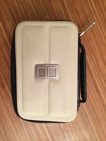 RDS Industries Off-White Nintendo DS Game Case