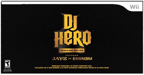 Wii DJ Hero Renegade Edition Jay-Z and Eminem