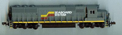 Atlas 49312 - N Scale EMD SD50 SEABOARD w/o Road #
