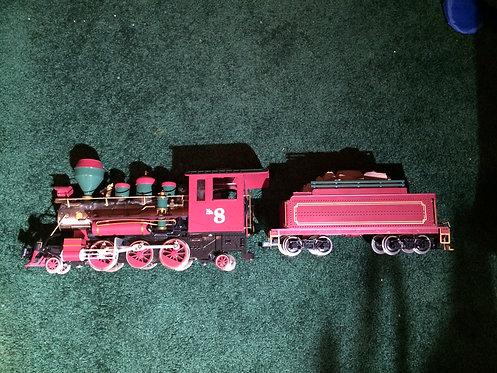 "Buddy ""L"" Railroad No. 8 Locomotive with Tender"