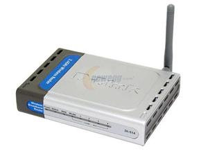 D-link DI-514 11 Mbps 4-Port 10/100 Wireless B Rou