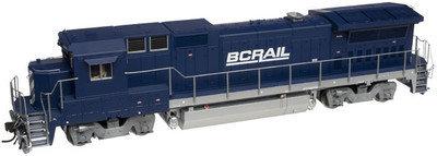 ATLAS N Scale 48759 DASH 8-40B Diesel Loco BC Rail