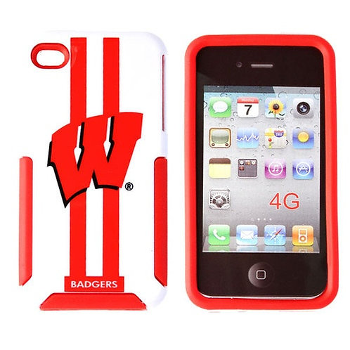 NCAA Wisconsin Badgers iPhone 4/4S Dual Case